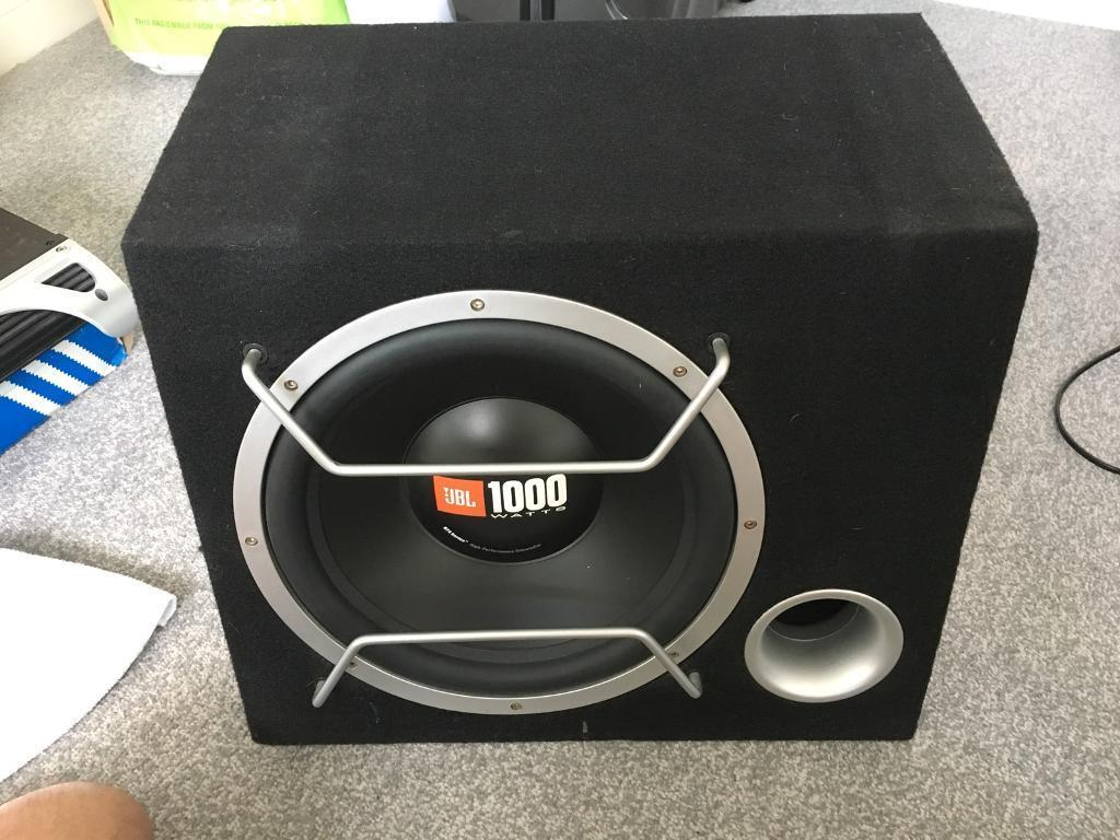 Jbl Sub Amp And Wiring Kit For Car In Mansfield Woodhouse Audio