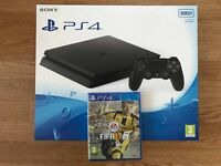 Playstation 4 Slim 500 GB + FIFA 17 **SEALED**