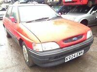 1993 Ford Escort mk5 1.6 lx 5dr red BREAKING FOR SPARES