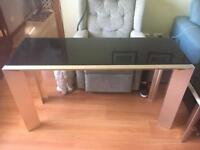 Coffee table console table and tv table
