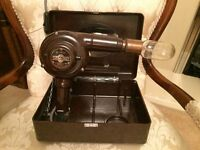 Antique/Vintage Table Lamp - made out of an old Ormond hairdryer - New wiring.