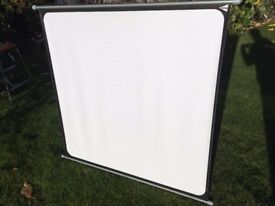 Boots 35mm slide projector screen