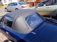 mazda mx5 vinyl soft top roof