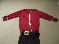 childs pirate halloween/fancy dress costume age 5-7 yrs