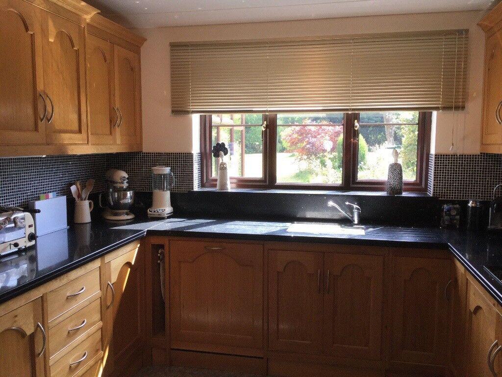 *** Solid Oak Complete Kitchen For Sale ***