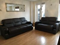 Modern Italian Sofa Genuine leather 3 and 2 seater