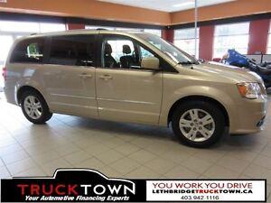 2015 Dodge Grand Caravan LOW KM CREW-BACKUP CAMERA