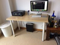 Desk and desk chair for sale