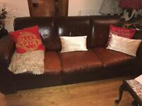 BARGAIN! Leather sofa