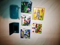 Nintendo 3DS with 5 game s