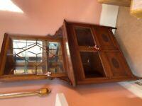 Antique Corner Cabinet FREE to Uplift