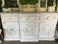 Real shabby chic looki dresser /sideboard