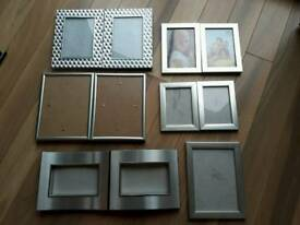 Coffee table picture frames lamps curtains- will seperate