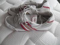 Adidas Y3 Trainers Size UK 9 Yohji Yamamoto Red/White
