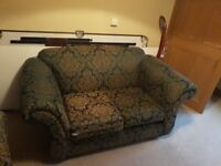 Two Seater Sofa - A matching pair. £70 each.