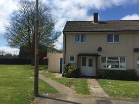 Longhoughton: two bed end terrace house for rent for six months only