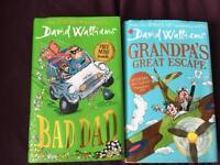 Wimpy Kid, David Walliams, Tom Gates books