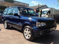 Land Rover Range Rover 4.6 Vogue SE 4dr Auto (blue) 2002