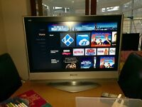 """Panasonic 32"""" LCD freeview high definition"""