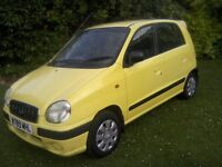 HYUNDAI AMICA 1-0 SI 5-DOOR 2000 W REG. 71,000 MILES ONLY 12 MONTHS MOT WITH NO ADVISORIES ANY TRIAL