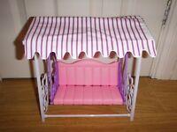 Doll Garden Swing Set Fits Barbie £10 O.N.O