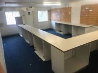 Unit To Let Bordelsey Green Electric Shutter + Alarm + parking on site retail/Office Internet