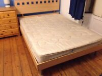 Double bed or bed frame