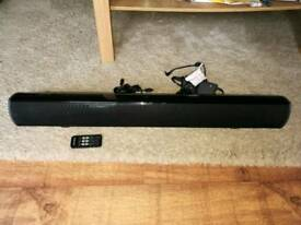 Goodmans 60w 2.1 soundbar almost brand new