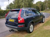 2004 Volvo XC90 Automatic 2.4 7-seater full leather creme colour full year mot