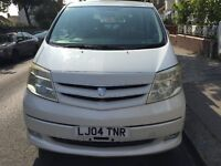 Toyota Alphard mpv petrol/Hybrid 8 seater import from japan last year First owner Auto Fully Loaded