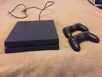 Playstation 4 new this year and barely used (2 controllers)