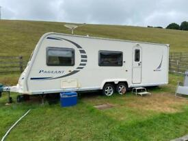 2009 Limited Edition 4 berth Bailey Pageant 7 Ardennes Caravan