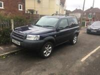2003 Land Rover freelander Serengeti se 112k full mot