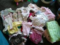 Newborn and 0-3 clothes and sleeping bags