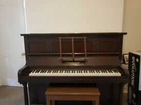 Upright piano by B Squire & Son London