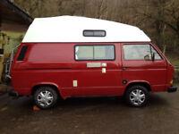 VW T25 High Top Leisuredrive RHD Campervan **LOW MILEAGE**