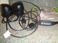 headpnones and speakers