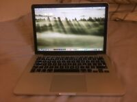 Macbbok Pro 13inch Retina Display,Core i5,