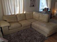 leather sofa £100
