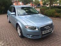 2005(05) AUDI AVANT A4 SE TDI ESTATE 2.0 TURBO DIESEL 140 BHP 6 SPEED FULL SERVICE HISTORY