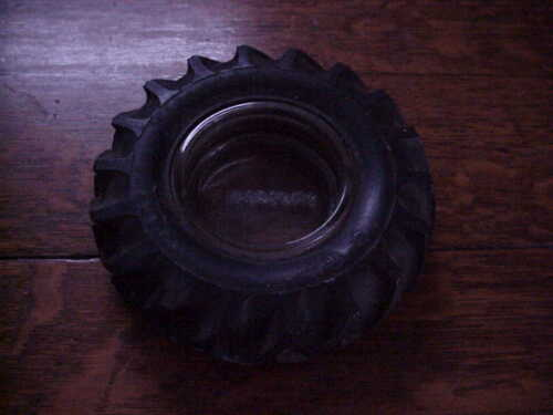 Vintage Advertising Firestone Gum dipped  Tractor Tire Ash tray