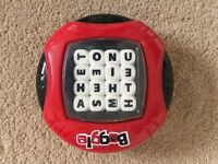 Boggle game toy electronic timer travel scramble