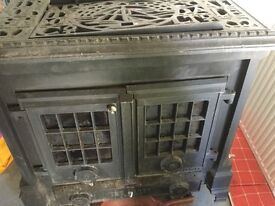Gas Fired/Log fired Central Heating System - Cheap!