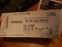 Red Hot Chili Peppers Hydro seating ticket x3 Face value or less! Can meet at venue or in town
