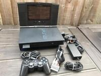 PlayStation 2 console with built in TV. Ps2