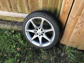 16 inch alloy wheels with 4 new tyres fitted £100 set of 4