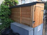 7X3 Motorcycle/Bicycle/Garden wooden Shed for sale