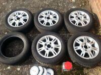 "Ford Fiesta Ford Ka 15"" Alloy Wheels"