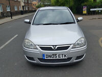 2005 Vauxhall Corsa 1.4 Silver 5dr Hatchback Petrol AUTO MOT June 2017Full service history 1owner