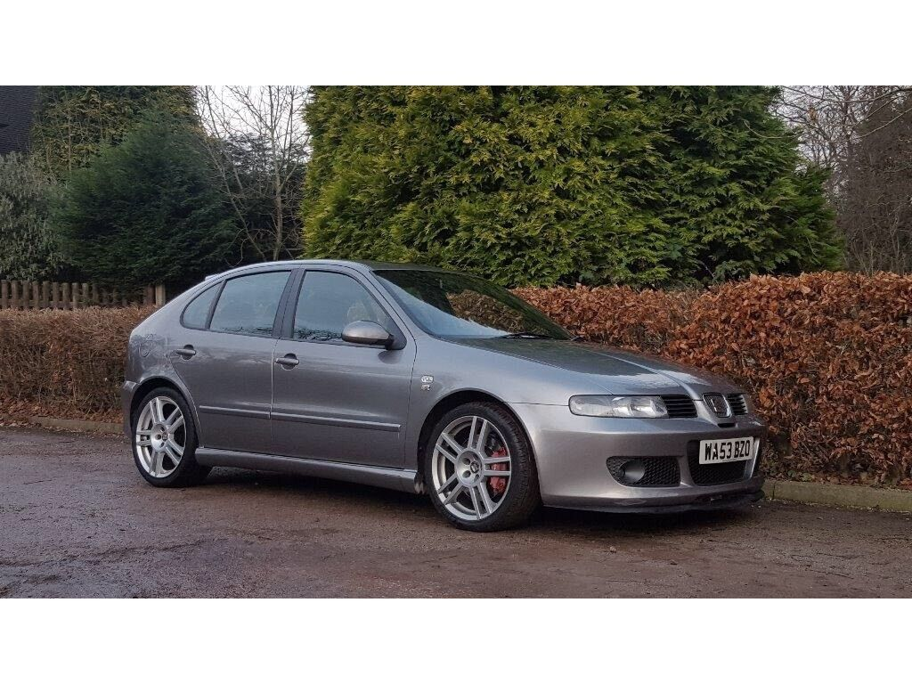 2003 seat leon cupra r grey 260 bhp nationwide delivery warranty card facility available in. Black Bedroom Furniture Sets. Home Design Ideas